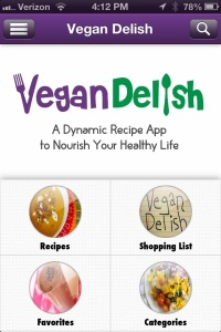 Vegan Delish iPhone screenshot
