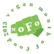 mofo 2013 green round word button