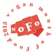 mofo 2013 red round words button